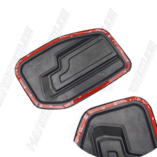 Hanssentune 4X4 1 Pc Matte Black Gas  Tank Cover  ABS Plastic  Tank Cap  For FORD RANGER RAPTOR