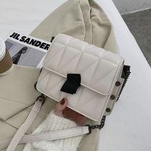 Высококачественная женская сумка с ромбовидными заклепками новинка