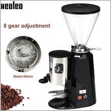 Xeoleo moedor de café comercial 1200w máquina de moagem de café 1/2hp máquina de trituração de café máquina de café moedor de feijão 900n