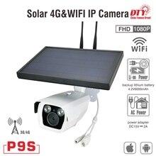DTY 1080p outdoor wireless 6W solar power secur ip camera WIFI