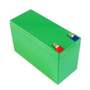 Image 2 - 12V 10AH/15Ah Pin Li ion Hộp 18650 Pin Lithium Kích Thước Vỏ L150 * W65 * H94mm Nhựa ABS ốp Lưng