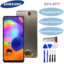 Samsung Galaxy A21s Lcd Display Touch Screen Digitizer  For Samsung A217 A217F Lcds
