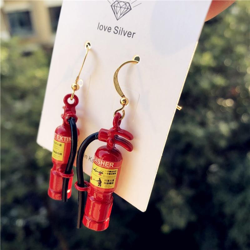 Fire Extinguisher Earrings 2