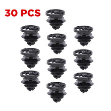30pcs Door Trim Panel Retainer Clip Fasteners For 98-on VW Golf For Jetta Mk4 Passat 1988 On B5 10mm Auto Bumper Fastener(China)