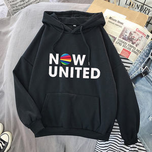 Fashion Now United - Better Album Hoodie Sweatshirts Men Women Better Now United Lyrics Pullover Unisex Kawaii Harajuku Tracksui
