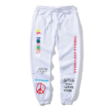 Brand Men's Sports Pants ASTROWORLD Letter Printing Trousers Men and Women Hip H