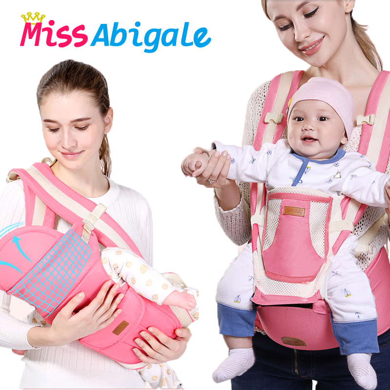 Ergonomic Baby Carrier Kangaroo Sling for Baby Infant Baby Hipseat Waist Carrier Front Facing Travel Baby Holder on AliExpress