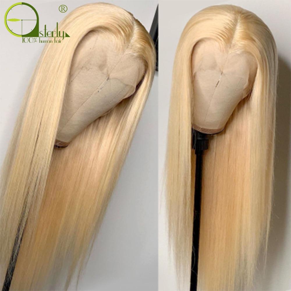 Sterly 613 t parte dianteira do laço perucas 13x1 remy em linha reta frente do laço peruca de cabelo humano para as perucas peruanas pre-arrancadas do laço