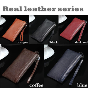 Image 2 - Real Leather Wallet + Back Cover For Phone XS Max XR Luxury MYL 49K 3D Genuine Leather Back Cover For phone 11 Pro Max case bag