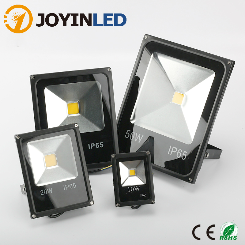 JOYINLEDLED Light Outdoor Floodlight <font><b>10W</b></font> 20W 30W 50W <font><b>LED</b></font> Flood Light AC230V <font><b>LED</b></font> Projector <font><b>Reflector</b></font> <font><b>Led</b></font> Lighting Outdoor Lamp image