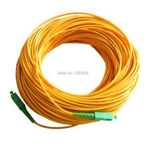 Image 2 - Оптоволоконный соединительный кабель SM SX, ПВХ, 3 мм, 50 метров