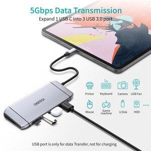 Image 3 - Convertisseur dextension, lecteur de cartes Sd 3.0, adaptateur daccueil Type C vers HDMI, HUB pour SD, TF, lecteur de cartes, Notebook, MacBook, Smartphone