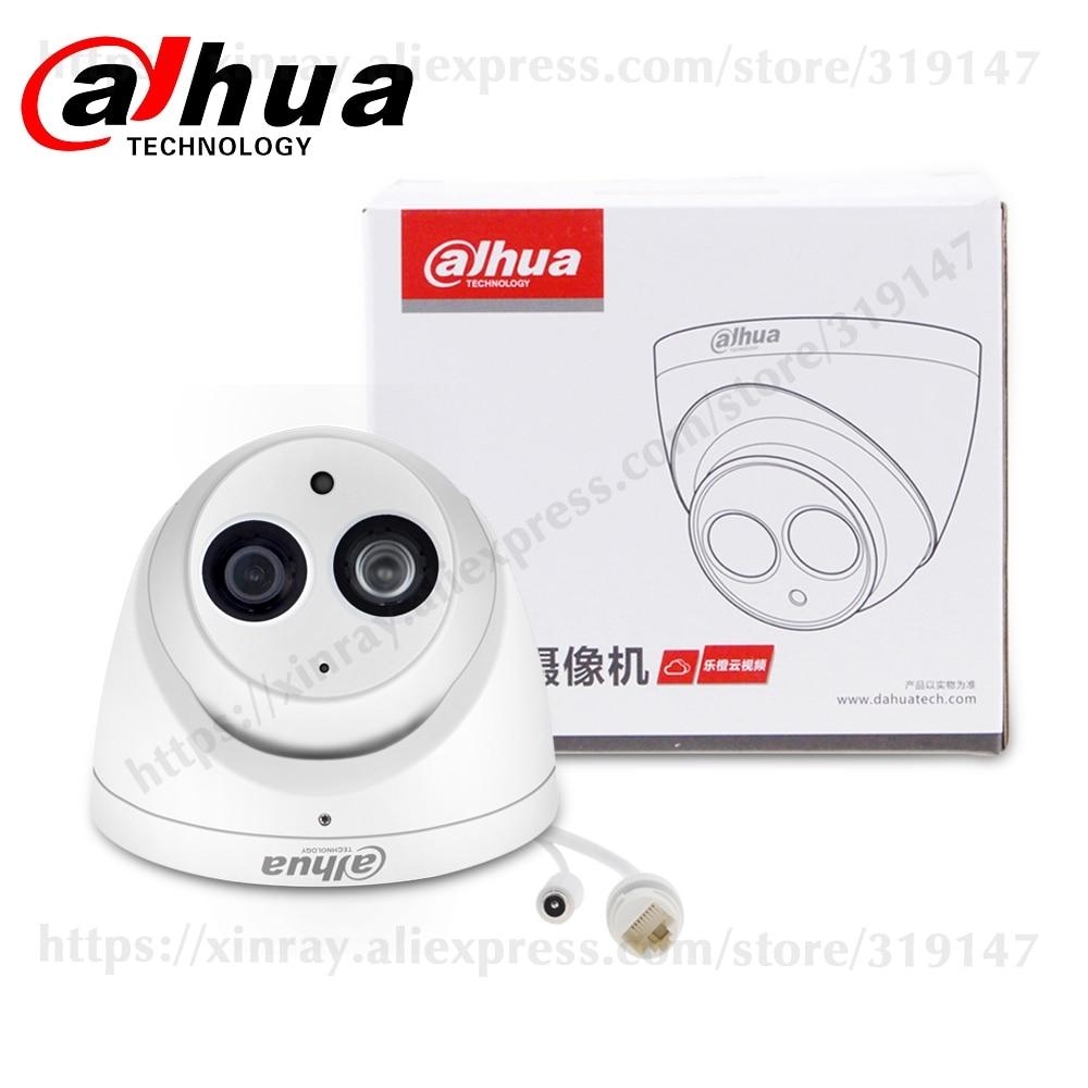 Hc1bb486b608c4cc9afaed54d1817f47en Dahua IPC-HDW4631C-A 6MP HD POE Network Mini Dome IP Camera Metal Case Built-in MIC CCTV Camera 30M IR Night Vision Dahua IK10