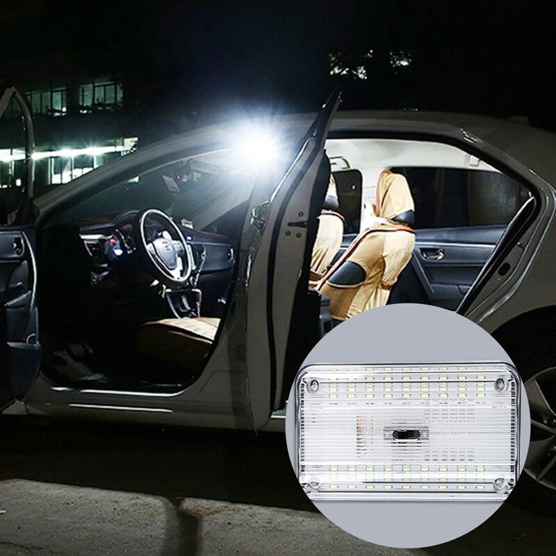 Купить универсальная автомобильная потолочная лампа для освещения салона