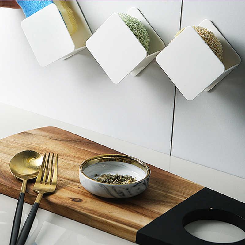 Évier d/'angle Bac Kitchen Sink Coin Étagère de rangement éponge Support Mural Al