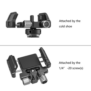 """Image 5 - SmallRig Universal Holder for External SSD Holder Clamp With Cold Shoe and 1/4"""" 20 Screws   2343"""