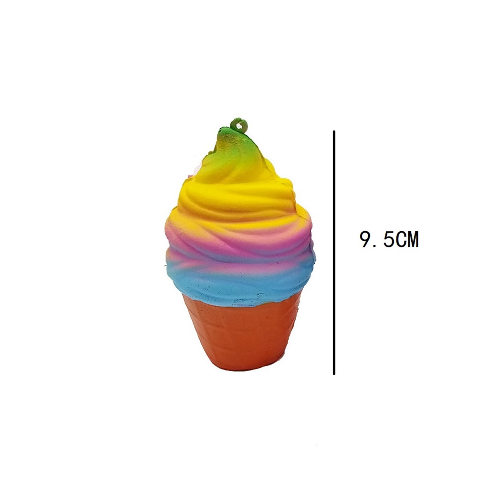 Scented Rainbow Fudge Release Stress Toys Ice Cream Slowly Rising Children'S Toy Decompression Toy Squishmallow img2