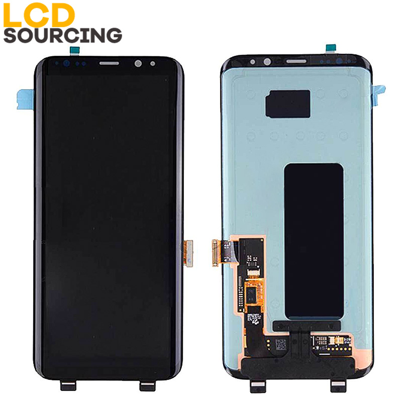 Image 2 - AMOLED S8 For SAMSUNG Galaxy S8 LCD Display G950 G950F Touch Screen Digitizer Assembly For S8+ Plus G955 G955F replace-in Mobile Phone LCD Screens from Cellphones & Telecommunications