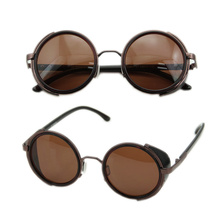 2017 Cyber Goggles 50s Round Glasses Classic Steampunk Sunglasses Retro Style Blinder MAR18_15