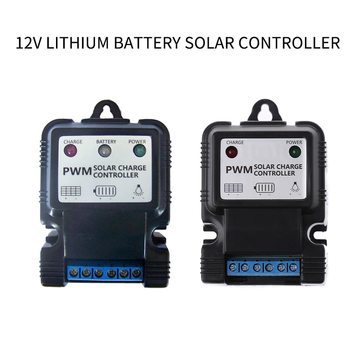 1Pc New Useful Durable 6V 12V 3A/5A/10A Auto Solar Panel Charge Controller Battery Charger Regulator Hot Home Improvement image