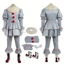 Танцевальный костюм клоуна; коллекция года; костюм Стивен Кинга; полный комплект для косплея