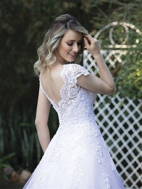 Фото vestido de noiva свадебные платья принцессы для невесты с рукавами цена
