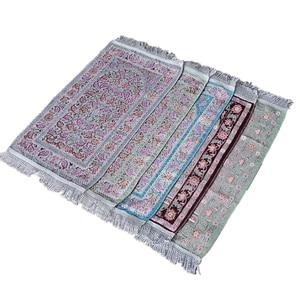 Image 4 - Muslim chirldren prayer rug baby size 35×65CM kids gift prayer mat