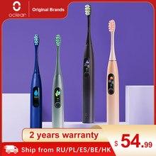 Oclean X Pro – brosse à dents électrique sonique pour adulte, Version globale, IPX7, 2 en 1, écran tactile couleur, Charge rapide