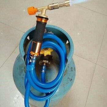 Zündung Verflüssigung Schweißen Gas Fackel Kupfer Explosion-Proof Schlauch Schweißen Werkzeug Für Pipeline Klimaanlage