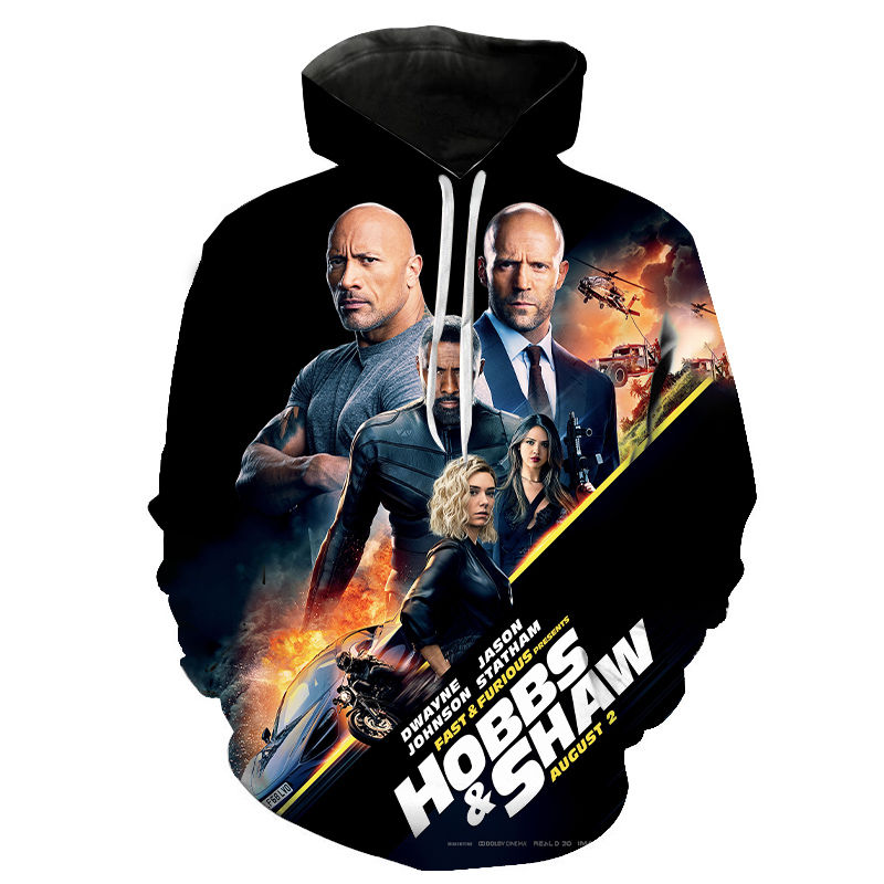 Aikooki Fast & Furious 3D Hoodies Men Women Children Cool Sweatshirt Fashion Pullover Fast & Furious Boy Girl Hoody Streetwear