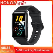 Honor – montre connectée ES Watch, écran amoled de 5.1 pouces, Bluetooth 1.64, moniteur de fréquence cardiaque, 5atm, Version globale