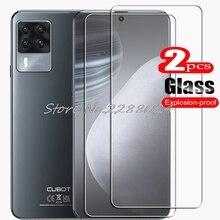 2 قطعة ل Cubot X50 عالية HD الزجاج المقسى واقية على CubotX50 الهاتف واقي للشاشة فيلم