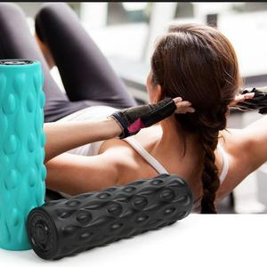 Wireless vibrator yoga roller