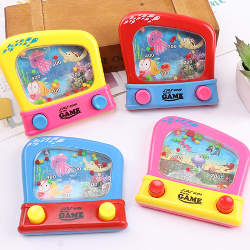 Children Water Machine Water Ferrule Game Consoles Toy Kids Classic Intellectual Girl Boy Toy For Children Gift Random Color