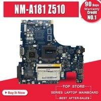 Freies Verschiffen Neue Neue AILZA NM A181 motherboard für Lenovo Z510 laptop motherboard PGA947 (Für intel I3 I5 I7 CPU) test OK-in Motherboards aus Computer und Büro bei