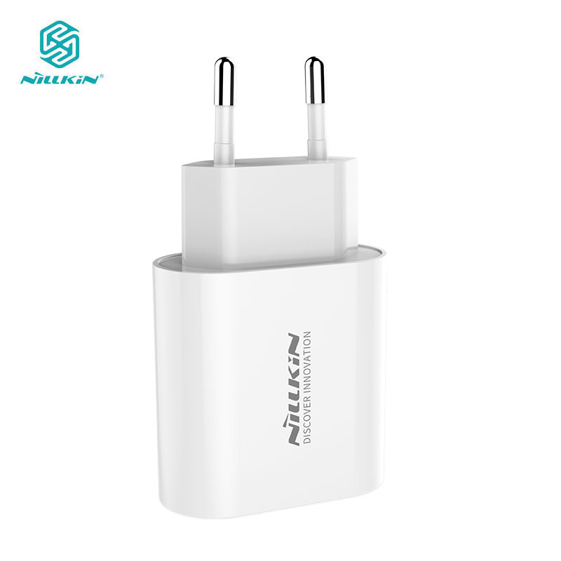 Nillkin USB Charger 18W PD & Foldable Plug Ultra-Compact USB C Wall Charger For IPhone 11/11 Pro Max For Xiaomi Mi 9