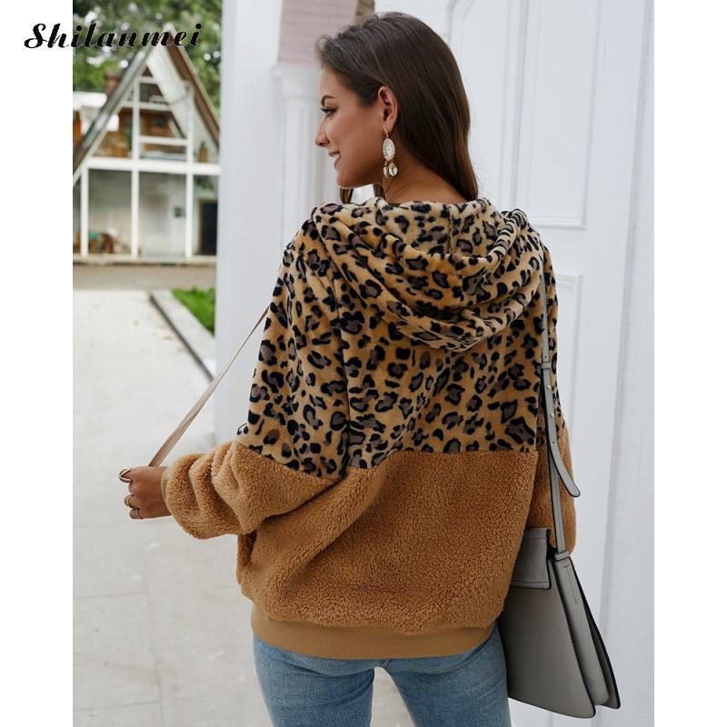 com capuz jaqueta feminina teddy harajuku casaco chaqueta mujer