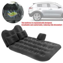 Inflatable Cushion Car Headrest Air Bed Car Air Bed With Travel Mattress Flocking Double Protection fast shipping new flocking inflatable car bed car grey seat cover car air mattress travel bed inflatable mattress air bed