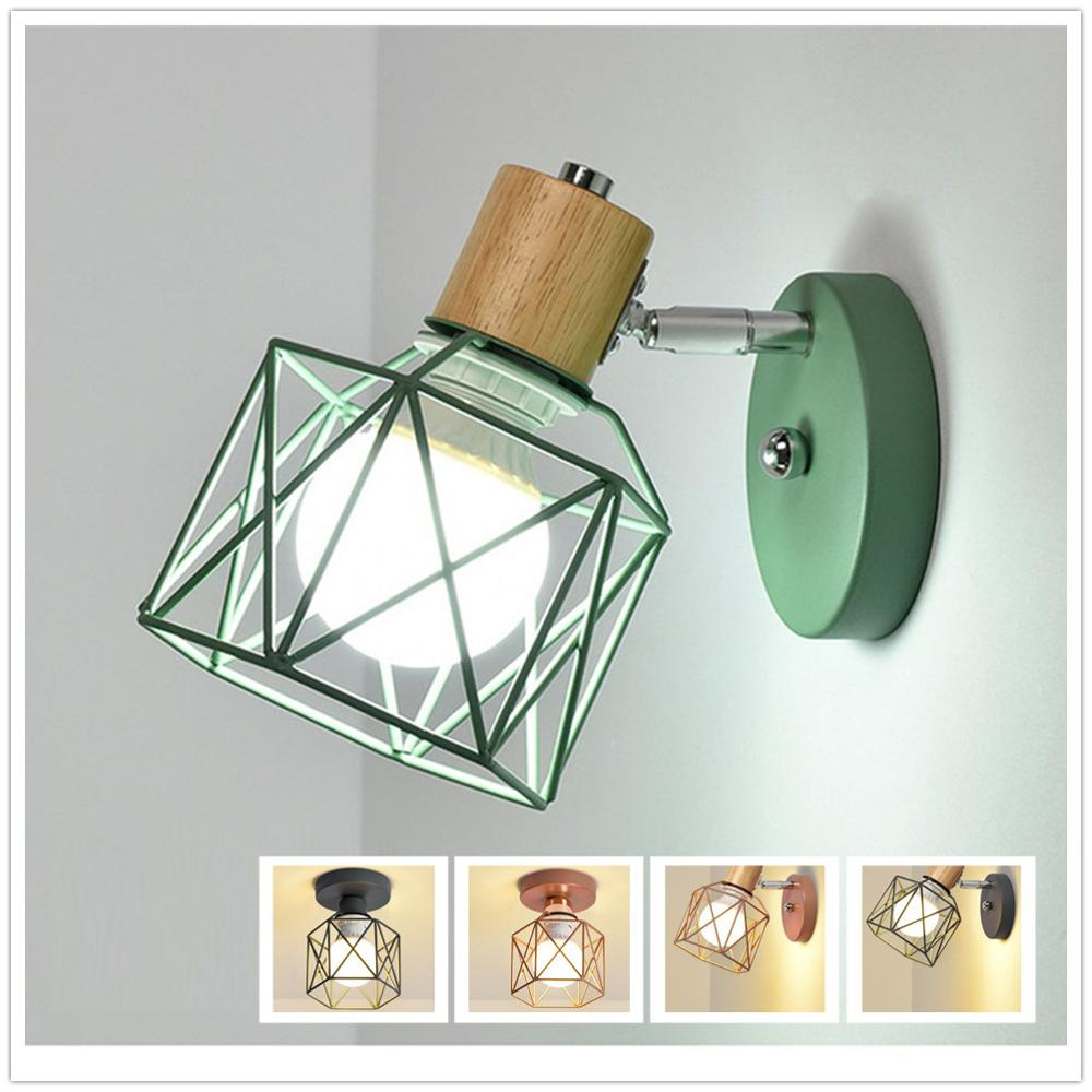 Nordic Style Of Modern LED Wall Lights Wooden Bedside Wall Lamp Wall Sconce Modern Ceiling Lamp Indoor For Kitchen Bedroom