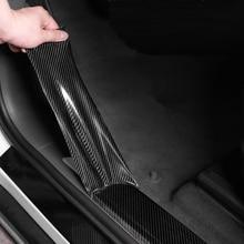 5D רכב מדבקת סיבי פחמן ויניל 3D מדבקות עמיד למים סרט מכוניות דלת פגוש מגן פנים קישוט אבזרים