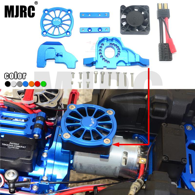 TRAXXAS TRX-4 universal aluminum alloy integrated motor mount and gear cover. with cooling fan set