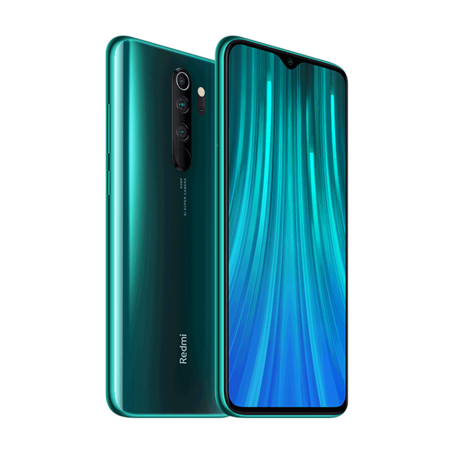 Spain Overseas Global Version Xiaomi Redmi Note 8 Pro 6GB 128GB Mobile Phone 64MP Quad Camera MTK Helio G90T Smartphone 4500 NFC