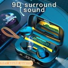 New M13 TWS Sport V5.0 Bluetooth Earphone Wireless Earbuds H