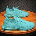 Стильная дышащая модная повседневная обувь в стиле знаменитостей, Дышащие Беговые кроссовки, мужские должны иметь скидку завода trend88