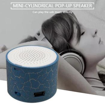 цена на MX-388 Mini Speaker USB Flash Drive Micro SD/TF Card Music MP3 Player FM Radio Porcelain Plastic Speakers