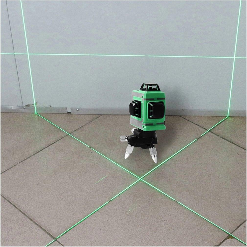 Ligne d'alignement auto-nivelante au niveau Laser Laser à ligne transversale horizontale et verticale avec Base rotative à 360 degrés - 5