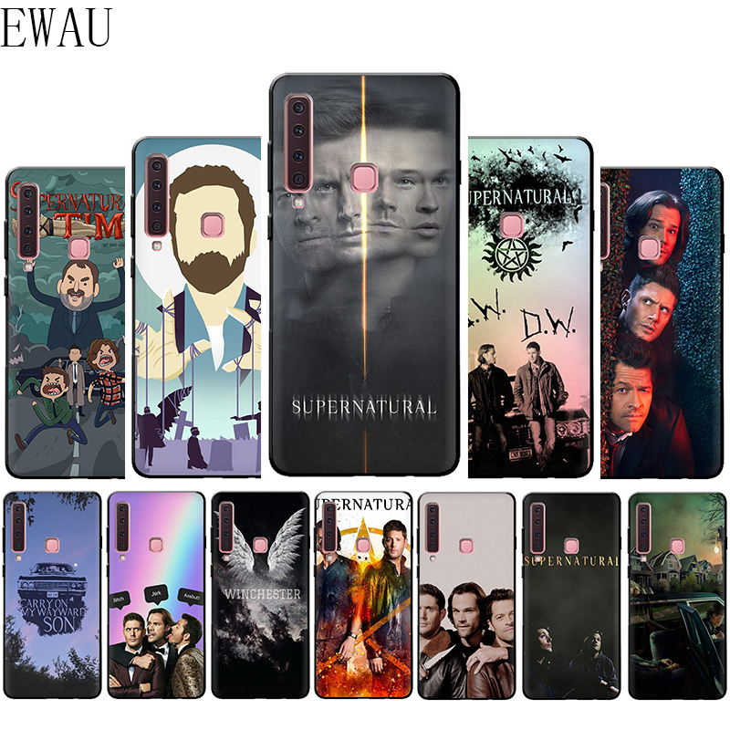 EWAU Supernatural Silicone phone case for Samsung A3 A5 A6 Plus A7 A8 A9 A10s 20s 30s 40s 50s 60 70 J6 image