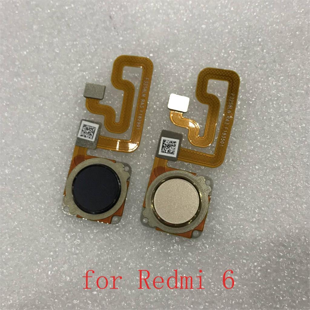 For Xiaomi Redmi 6 Touch ID Fingerprint Sensor Scanner Home Return Key Menu Button Flex Cable Ribbon