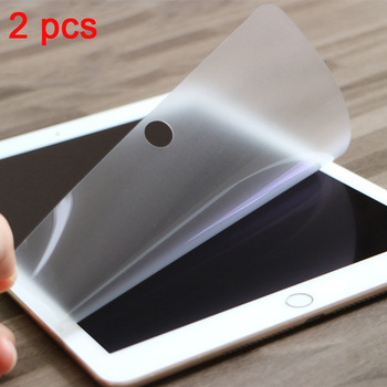 Matte Screen Protector For ipad Pro 11 Air 2 3 MiNi 5 4 3 2 2017 2018 PET Anti Glare Film For iPad 10.2 10.5 2019 Soft Film 3pcs pack cheap good front matte protetive film for apple ipad 2 3 4 screen protector anti glare carton pack