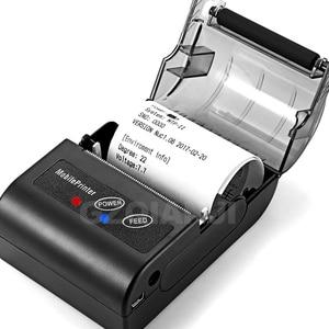 Image 3 - POS 58MM Bluetooth Thermische Empfang Drucker Tragbare Mobile Wireless Empfang Maschine für Windows Android iOS Telefon 80 mm/s geschwindigkeit